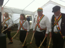 Morris Dancers at the Beer Festival